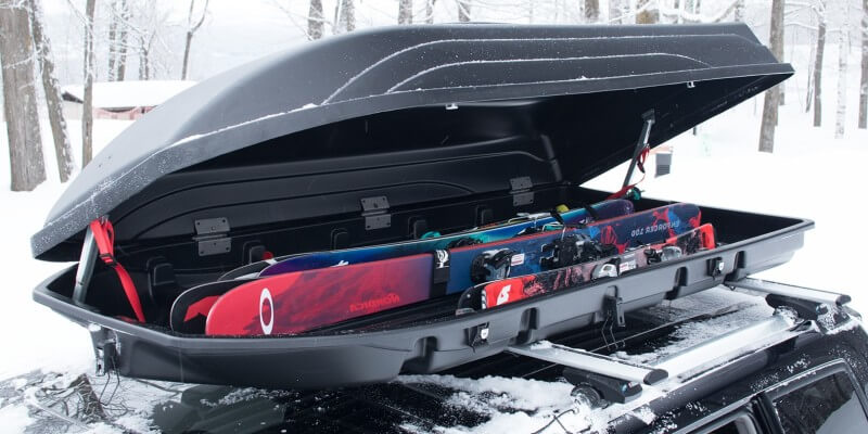 7 Best Cargo Boxes for Skis & Snowboards - Ski Boxes Buyers Guide