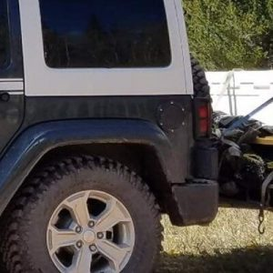 Leader Accessories Hitch Mount Cargo Carrier