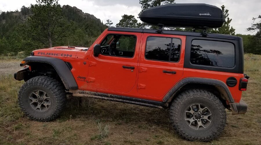 Best Jeep Wrangler Roof Boxes