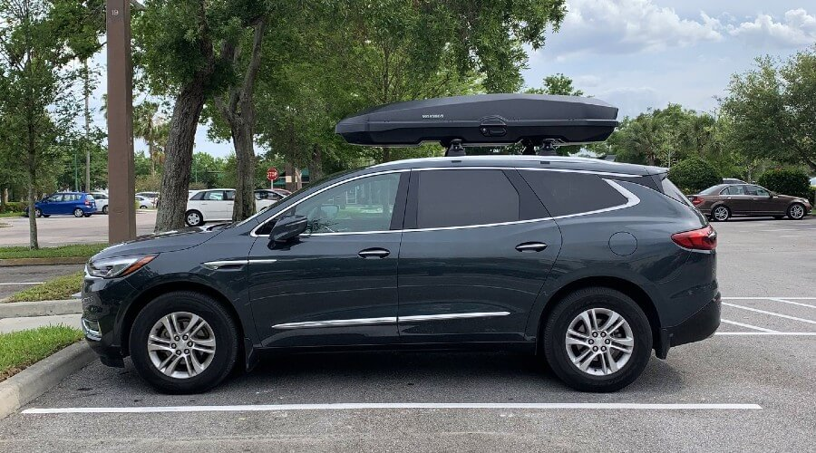 Buick Enclave Roof Cargo Box