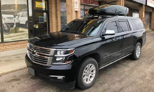 Chevy Suburban Roof Cargo Carrier