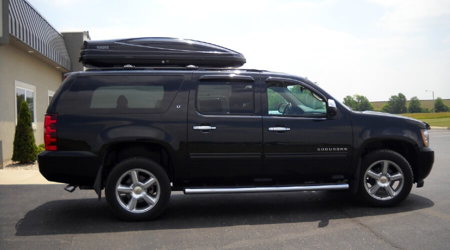 Chevy Suburban Roof Cargo Carriers