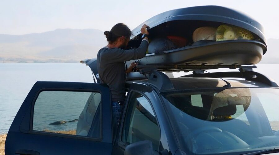 Roof Box or Roof Bag