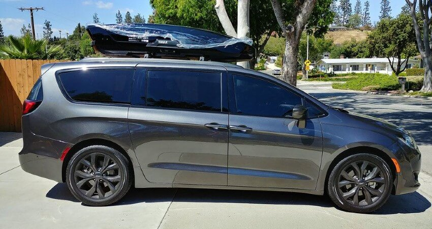 Chrysler Pacifica Roof Cargo Boxes
