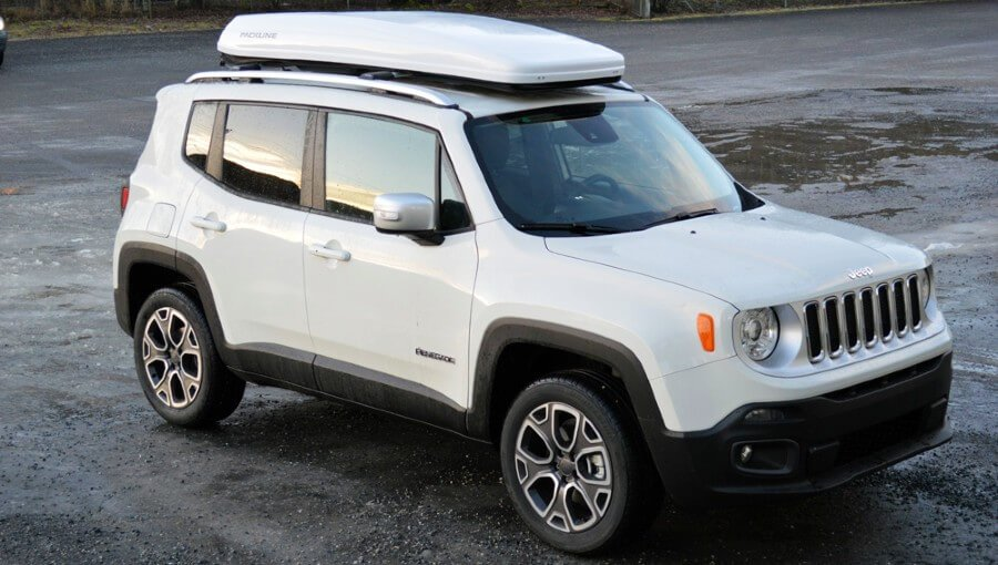 Jeep Renegade Roof Cargo Boxes